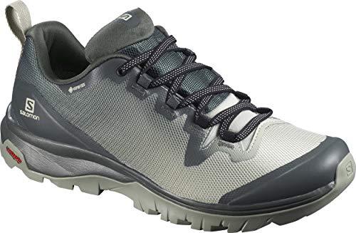 Salomon Women's Hiking Shoe, urban chic/mineral gray/shadow,6.5 M US