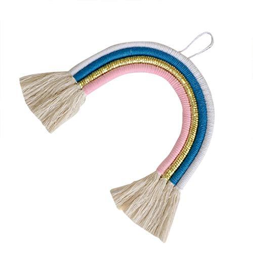 teng hong hui Nordic-Art hängende Dekoration Mädchen-Kind-Raum-Wand-Rainbow Home-Wand-Dekor-Baby-Fotozubehör