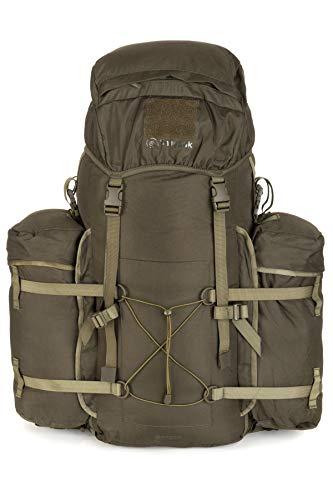 Snugpak | Bergen | 100L | Rucksack | komplett abnehmbare Seitentaschen S olivgrün