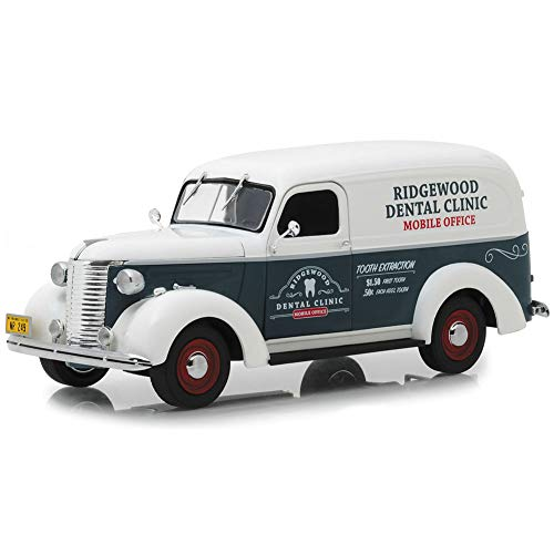 Greenlight 1:24 18249 CHEVROLET PANEL TRUCK NORMAN ROCKWELL LEVERING VOERTUIGEN