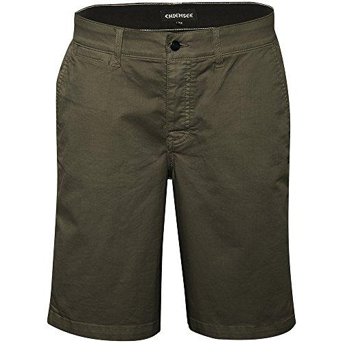 Chiemsee Herren Chinoshorts, einfarbig Bekleidung/Hose Shorts, 880 Dusty Olive, 32