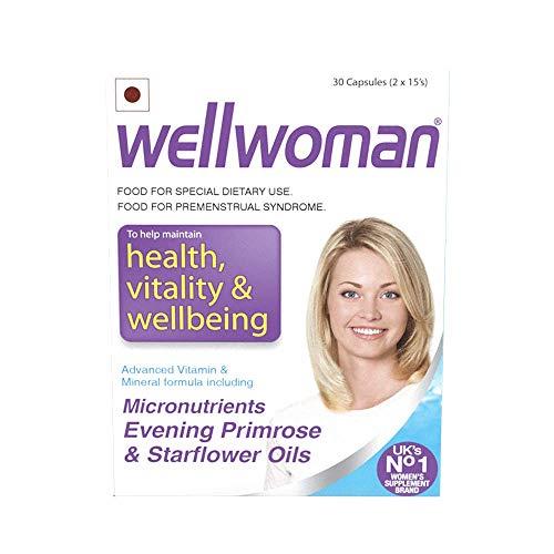 Zeeke Wellwoman - Health Supplements (Micronutrients, Evening Primrose Oil and Starflower Oil) - 30 Tablets