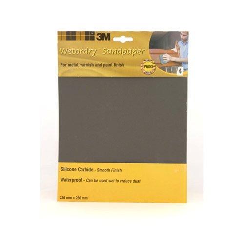Wet And Dry Sandpaper 1500Grit 5 Sheets 230 X 280Mm Waterproof Paper Highest Qua
