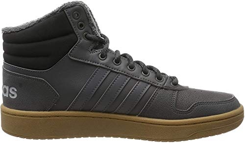 adidas Herren Hoops 2.0 MID Basketballschuhe, Grau (Grey Five/Grey Five/Core Black Grey Five/Grey Five/Core Black), 44 EU