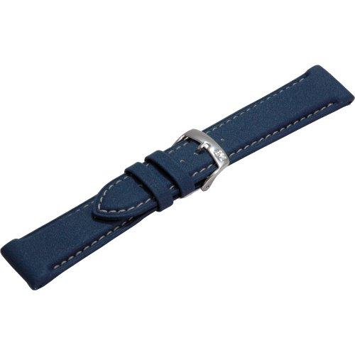 Morellato Cinturino da uomo, Collezione SPORT, mod. Squash, in gomma - A01U3822A42, blu, 18mm