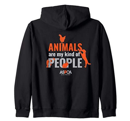 ASPCA Animals Are My Kind of People Zip Hoodie