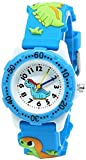 Kids Watch for Boys and Girls, Toddler Waterproof Watch with 3D Dinosaur Cartoon Silicone Band, Best Gifts for Aged 3-12