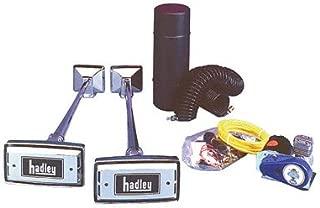 Hadley Horns H00977N Twin Rectangular Horn Kit