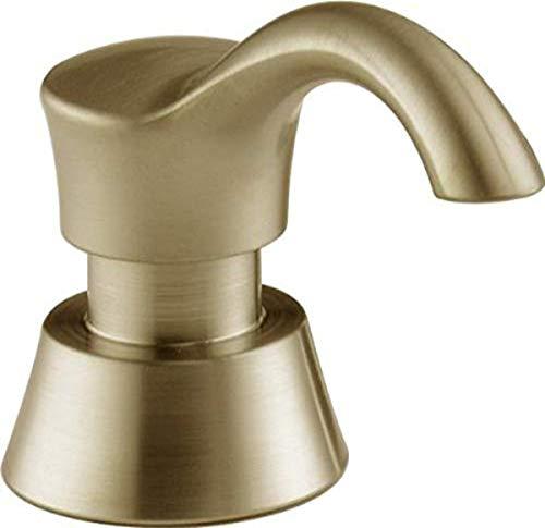 Delta Faucet Pilar Kitchen Soap Dispenser for Kitchen Sinks, Champagne Bronze RP50781CZ