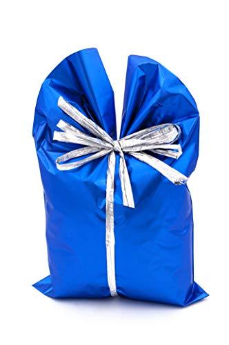 Italpak X204006152500 - Buste Regalo Metallizzate, Soft Blu [1 confezione da 50 buste]