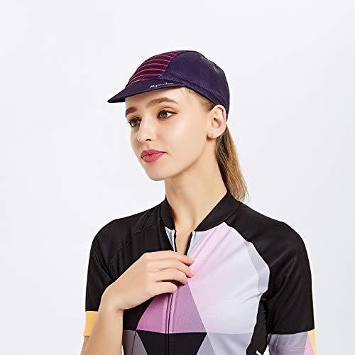 MYSENLAN Radmütze Radsport Classic Cycling Cap Radlercap für Damen - 2