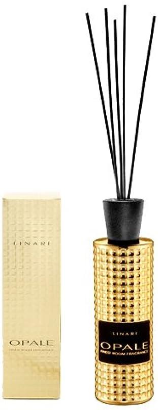 リビジョン敬意を表して現実LINARI リナーリ ルームディフューザー 500ml OPALE オパール ブラックスティック blackl stick room diffuser