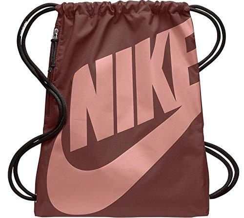 Nike Unisex-Erwachsene NK Heritage GMSK Turnbeutel, Mehrfarbig (Red Sepia/Red Sepia/)