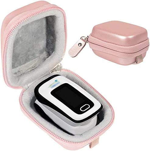 wholesale WGear Case for Zacurate Pro high quality 500DL, Childrend: Innovo Deluxe, Santamedical 2. Facelake FL400 t. FL350: Vive Precision Spo2 Accumed cms-50dl, 50D1, Healthtree high quality (Rose Gold) outlet online sale