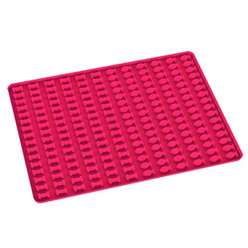 LINONI Molde de silicona con forma de pez pequeño hueso, para perros y galletas, antiadherente, resistente al calor, para hornear, utensilios de cocina