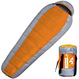 Outdoorsman Lab Mummy Sleeping Bag for Adults and Kids - All...