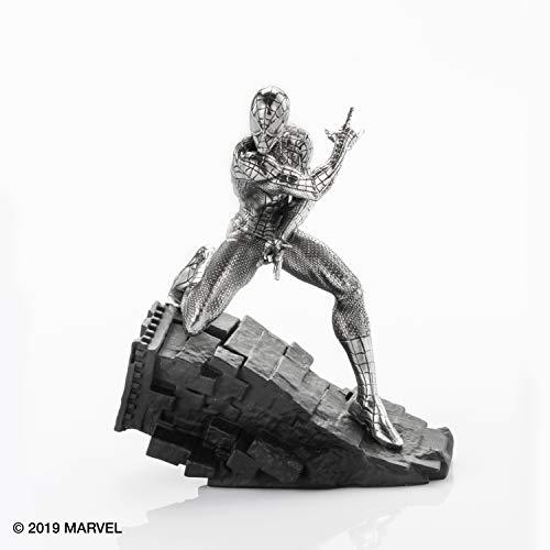 Royal Selangor Hand Finished Marvel Collection Pewter Spider-Man Webslinger Figurine Gift