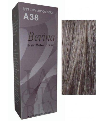 Permanente Haarfarbe Haar Haare Haarfaerbung Intensivtoenung Berina Hell Ash Grau Blond