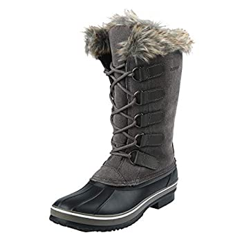 Best gray snow boots Reviews