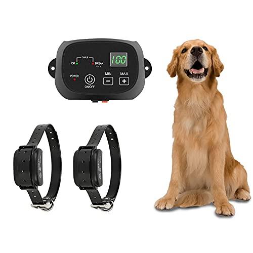 NXX Valla Eléctrica Sistema Avanzado De Contención De Mascotas para Todo Clima...