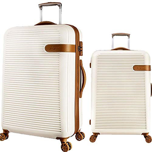 Premium Rotating 20in 24in Hardshell 2 Piece Spinner Luggage Nested Set With TSA Lock Travel Luggage Trolley Cases Suitcase Carry-on Uprights Suitcase 360deg; Silent Spinner Multidirectional Wheels Ai
