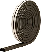 M-D Building Products 1025 M-D 0 D-Profile Weather-Strip Tape, 17 Ft L X 23/64 in W 5/16 in T, Epdm Rubber, Black