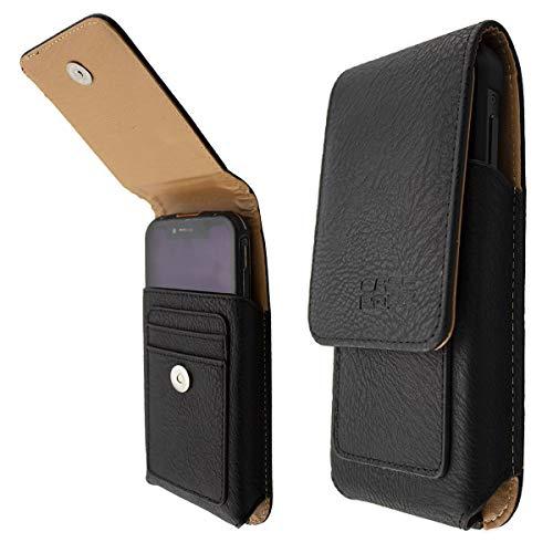 caseroxx Handy Tasche Outdoor Tasche für Blackview BV9100, mit drehbarem Gürtelclip in schwarz