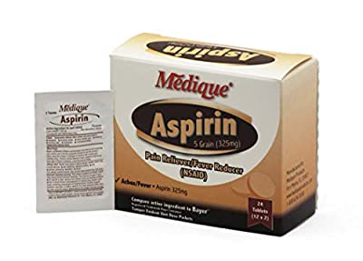 Medique 11613 Aspirin Pain Relief Tablets by Medique