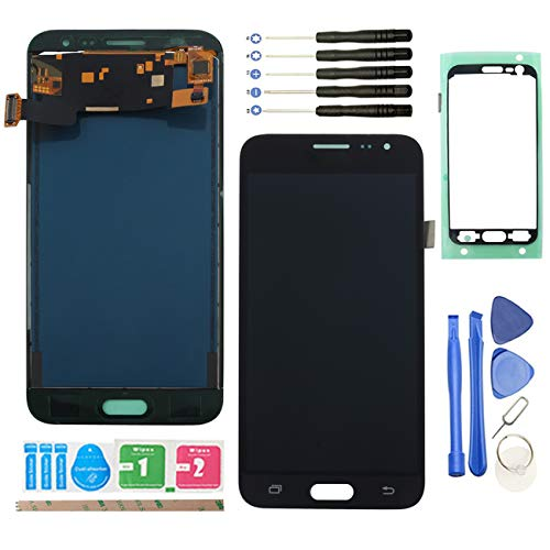 """YHX-US Replacement for Samsung Galaxy J3 2016 J320A J320P J320F 5.0"""" LCD Display Screen Touch Digitizer +A Set of Tools (Black)"""