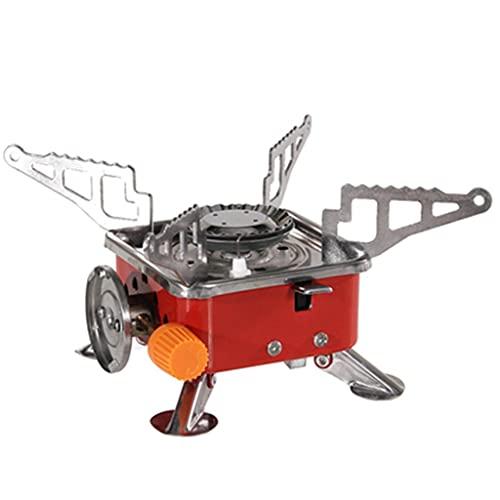 SMDMM Horno De Tarjeta Portátil Plegable para Barbacoa Al Aire Libre Mini Horno Cuadrado Estufa De Palma Cuadrada Estufa De Gas Butano