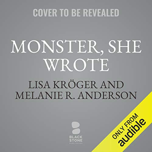 Monster, She Wrote audiobook cover art