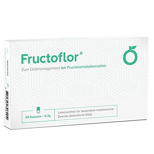 Fructoflor bei Fructoseintoleranz (30 Kapseln) - Tabletten für Fructosemalabsorption