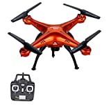 Toy house Syma 0.3MP Camera WiFi FPV Drone 2.4GHz Quadcopter RC Drone, Orange
