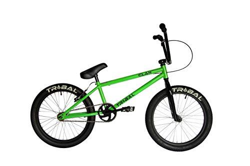 Tribal Clan Bicicleta BMX de 20 Pulgadas, Verde Intenso.