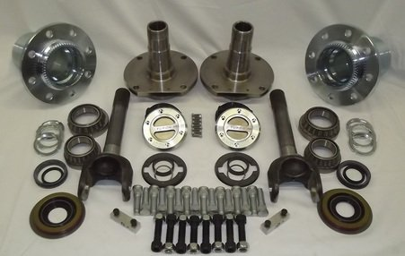 Learn More About EMS Offroad HC-09D-SRW Hub Conversion Kit for 2009 Dodge 2500/3500