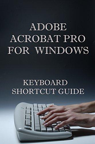 Adobe Acrobat Pro for Windows Keyboard Shortcut Guide