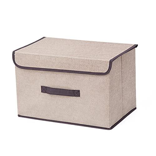 Almak - Pattumiera pieghevole, grande capacità, per coperte, biancheria da letto, contenitori con coperchi, per guardaroba, armadi, mensole, ufficio