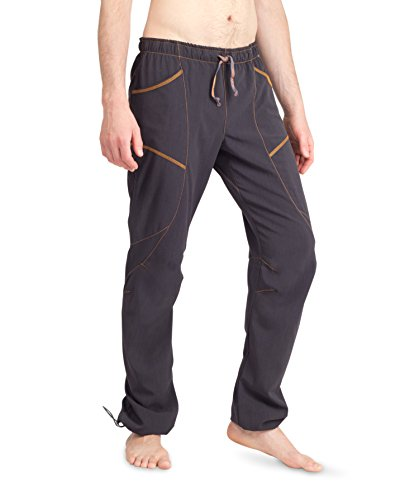 Ucraft 'Xlite Rock Climbing, Bouldering and Yoga Pants. Lightweight, Stretching, Breathable (410-M-Graphite)