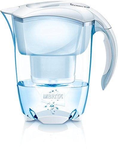 BRITA Elemaris Jarra y Filtro, Blanco, 2.4 litros
