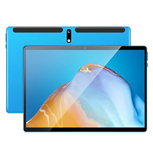 ELLENS Tableta 10 Pulgadas Octa Core Android 8.1 Tableta ultraportátil, 3GB RAM + 32GB ROM, Dual SIM Dual Standby, WiFi, Bluetooth, GPS (Dorado/Azul)