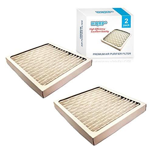 HQRP Filter Set 2-Pack for Hamilton Beach 04381 True Air Allergen Reducing Filter Plus Coaster