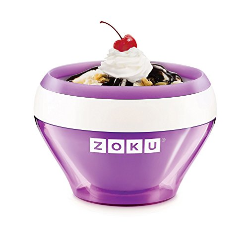 Zoku Single Quick Pop Maker freezes ice pops in as little as seven minutes right on your countertop without electricity Freezes them just as fast! The unit can make up to three pops before it needs to be refrozen Can quickly make striped pops yogurt ...