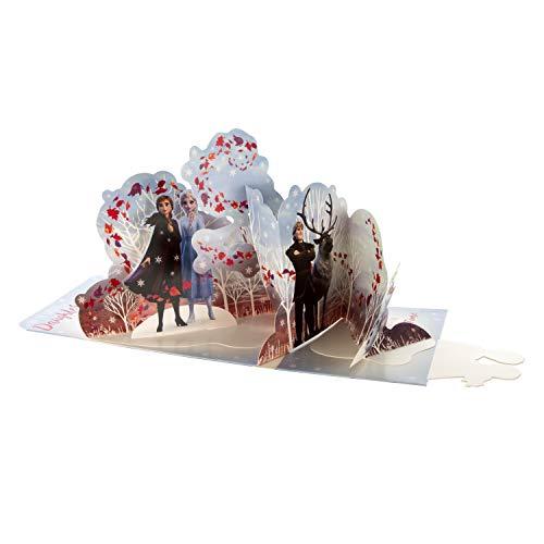 Hallmark 3D-Geburtstagskarte für Tochter, Disney's Die Eiskönigin – ausklappbare Szene