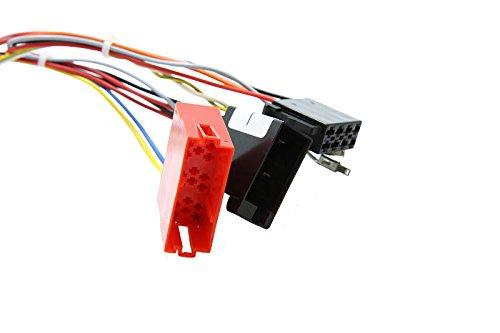 Caraudiosystemen Kabel set voor CAN-Bus Interface CX-401 geschikt voor voertuigen met ISO-aansluiting