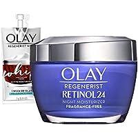 Olay Regenerist Retinol 24 Night Moisturizer Fragrance-Free + Whip Face Moisturizer