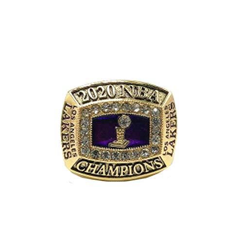 XDXD Anillo de Baloncesto Lǎkěrs 2020 Jǎměs Campeonato Anillo Europa y América Hombres Anillos de los Abanicos Deportes Colección Campeón Anillos Hombres Vintage Accesorios Creativo