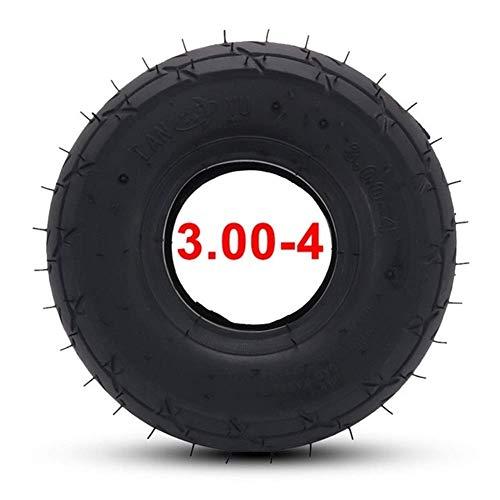 Neumático Fuera de neumático Tubo Interior de 11 Pulgadas Carretera/Apto para autoequilibrado Rueda Scooter Piezas de Bicicleta eléctrica de Gasolina Fácil de Instalar (Color: out), Usable