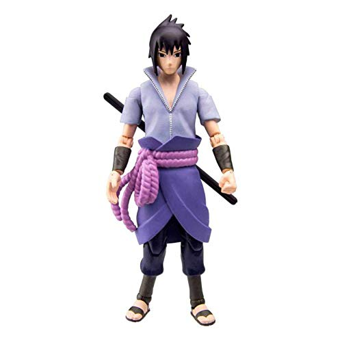 Toynami Naruto Shippuden: Sasuke Uchiha 4-Inch Poseable Action Figure