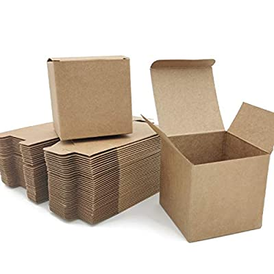 Amazon - Save 50%: LANSCOERY Kraft Gift Strawberry Boxes Favor Boxes Collapsible Pastry C…
