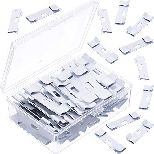 Vertikale Jalousie Reparatur Flügelschoner Blind Reparaturclip Vertikale Jalousie Reparatur Tabs, Fenster Jalousien Ersatz, Weiß (30)